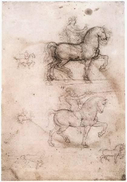 Leonardo da Vinci Equestrian monument